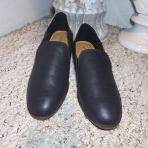 NWT Lucky Brand Cahill Convertible Blk Mule/Loafer